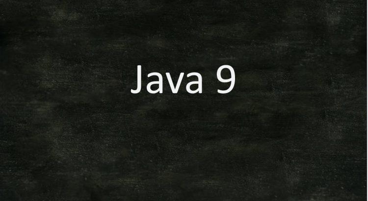 Java 9 und Jigsaw
